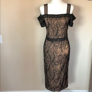 Beautiful Black Lace Overly Dress